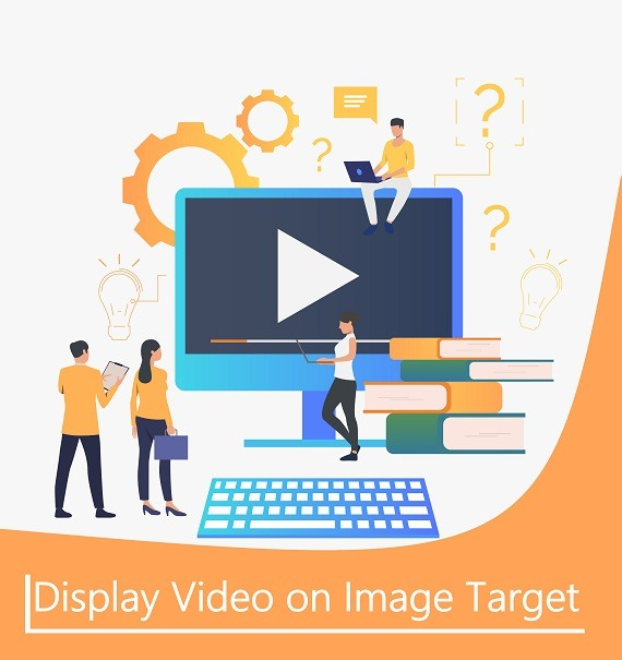 Augment Video on image target