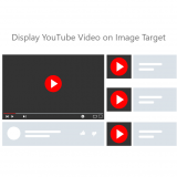 Augment YouTube Video on image target