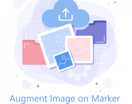 Augment Image on image target